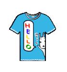 メッセージはTシャツで☆~ウサギ星人ver~(個別スタンプ:05)