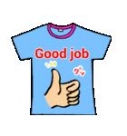 メッセージはTシャツで☆~ウサギ星人ver~(個別スタンプ:08)
