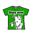 メッセージはTシャツで☆~ウサギ星人ver~(個別スタンプ:12)