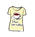 メッセージはTシャツで☆~ウサギ星人ver~(個別スタンプ:14)