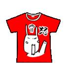 メッセージはTシャツで☆~ウサギ星人ver~(個別スタンプ:20)