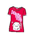 メッセージはTシャツで☆~ウサギ星人ver~(個別スタンプ:22)