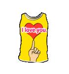 メッセージはTシャツで☆~ウサギ星人ver~(個別スタンプ:23)