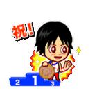 ホームサポーター 体操競技編(個別スタンプ:36)