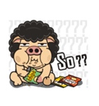 Pigman,Are you OK? - Debut(English)(個別スタンプ:06)