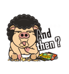Pigman,Are you OK? - Debut(English)(個別スタンプ:07)