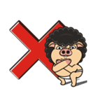 Pigman,Are you OK? - Debut(English)(個別スタンプ:39)