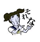 顔色の悪いJKスタンプ(個別スタンプ:02)