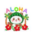 すいかパンダさん(個別スタンプ:02)