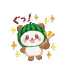 すいかパンダさん(個別スタンプ:05)