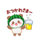 すいかパンダさん(個別スタンプ:08)