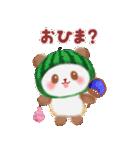 すいかパンダさん(個別スタンプ:13)