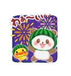 すいかパンダさん(個別スタンプ:36)