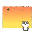 帰るコールに使える!パンダのスタンプ(個別スタンプ:40)