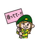 TねぇK恵の日常生活[season2](個別スタンプ:16)