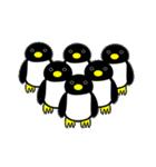いつでもペンギンがみてる(個別スタンプ:01)