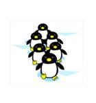 いつでもペンギンがみてる(個別スタンプ:02)