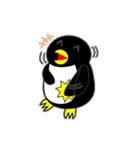 いつでもペンギンがみてる(個別スタンプ:07)