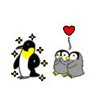 いつでもペンギンがみてる(個別スタンプ:16)