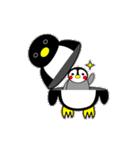 いつでもペンギンがみてる(個別スタンプ:20)