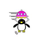 いつでもペンギンがみてる(個別スタンプ:23)