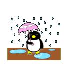 いつでもペンギンがみてる(個別スタンプ:27)