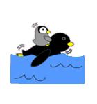 いつでもペンギンがみてる(個別スタンプ:30)