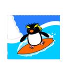 いつでもペンギンがみてる(個別スタンプ:32)