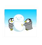 いつでもペンギンがみてる(個別スタンプ:35)