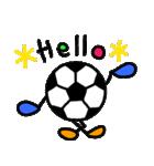 サッカー 1(個別スタンプ:03)