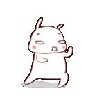 ふきだし☆白ウサギさん(個別スタンプ:24)