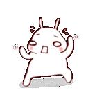ふきだし☆白ウサギさん(個別スタンプ:35)