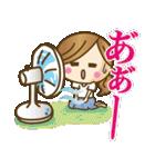 【夏〜真夏】大人女子♥丁寧&気づかい言葉(個別スタンプ:8)