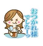 【夏〜真夏】大人女子♥丁寧&気づかい言葉(個別スタンプ:15)