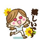 【夏〜真夏】大人女子♥丁寧&気づかい言葉(個別スタンプ:23)