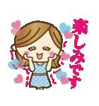 【夏〜真夏】大人女子♥丁寧&気づかい言葉(個別スタンプ:24)