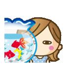 【夏〜真夏】大人女子♥丁寧&気づかい言葉(個別スタンプ:28)