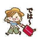 【夏〜真夏】大人女子♥丁寧&気づかい言葉(個別スタンプ:37)