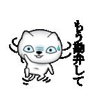 あおめにゃんこ(個別スタンプ:25)