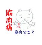 ヤバイっす「みそじネコ」(個別スタンプ:24)