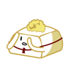 ゆとり豆腐(個別スタンプ:16)