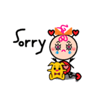 FUNNY FRIENDS (BABY)(個別スタンプ:06)