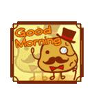 朝専用 おはようスタンプ(個別スタンプ:12)