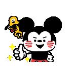 うごく!カナヘイ画♪ミッキー&フレンズ(個別スタンプ:05)