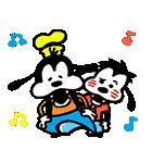 うごく!カナヘイ画♪ミッキー&フレンズ(個別スタンプ:06)