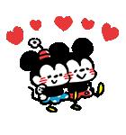 うごく!カナヘイ画♪ミッキー&フレンズ(個別スタンプ:12)