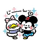 うごく!カナヘイ画♪ミッキー&フレンズ(個別スタンプ:13)