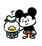 うごく!カナヘイ画♪ミッキー&フレンズ(個別スタンプ:22)