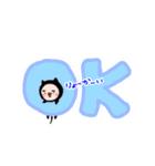 ふとまゆ〜スイート毒舌でおなじみの〜(個別スタンプ:05)