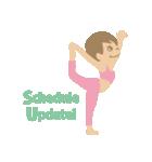 SANDEE YOGA - 英語(個別スタンプ:15)